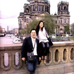 Валерий Меладзе провел с дочерью Ингой каникулы в Германии